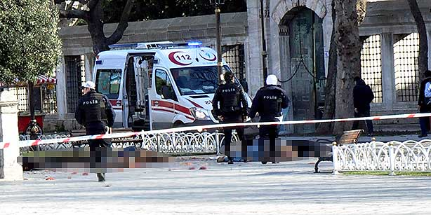 Explosion in Istanbul's Sultanahmet: 10 killed, at least 15 wounded