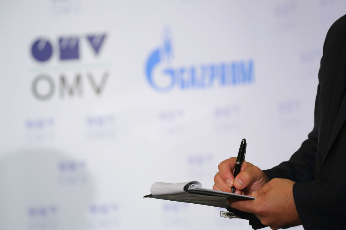 OMV and Gazprom are negotiating a swap that involves Romania and Bulgaria