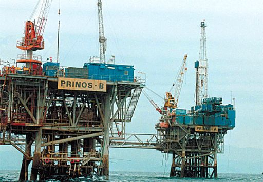 Oil production has doubled in Prinos