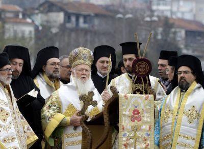 Istanbul's Greek community celebrates Orthodox feast