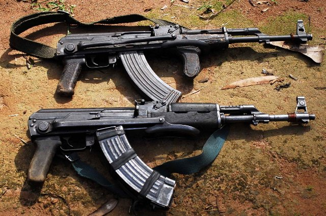 Did the machine guns that were used in the massacre of France come from Albania?