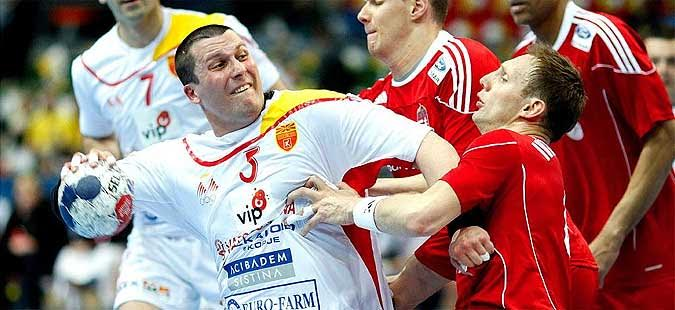 FYROM draws against Slovenia in handball