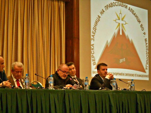 Albanian orthodox community in FYROM set up their religious communion
