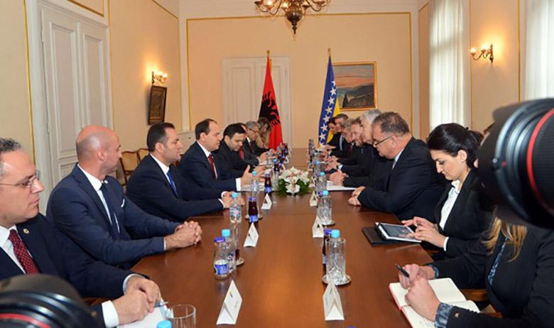 Albanian President demands Bosnia and Herzegovina to recognize Kosovo