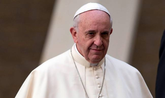 The Pope sends message of support to Greece