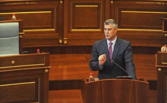 Hashim Thaci is elected the new president of Kosovo