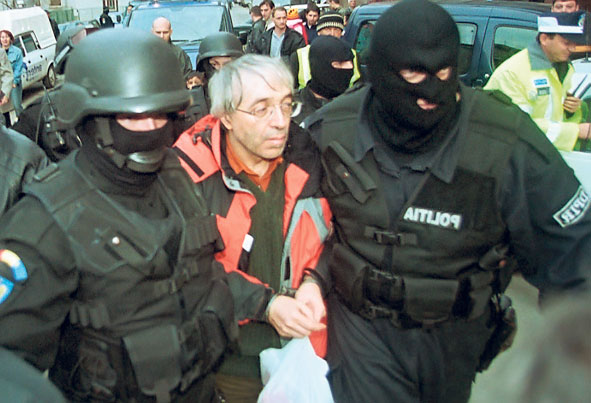Romania's most wanted fugitive was arrested in France