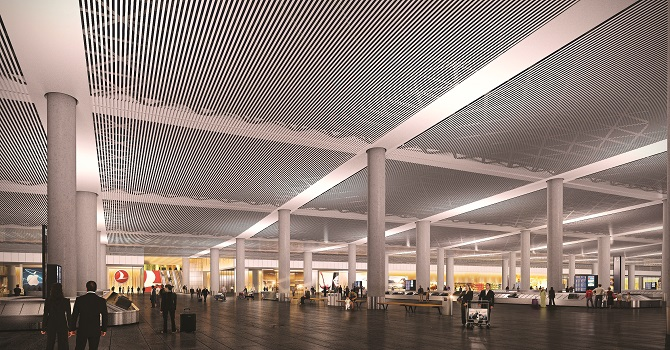 Istanbul airport to be ready in 2018