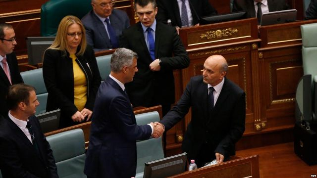 Extraordinary parliamentary session for the election of the new president of Kosovo