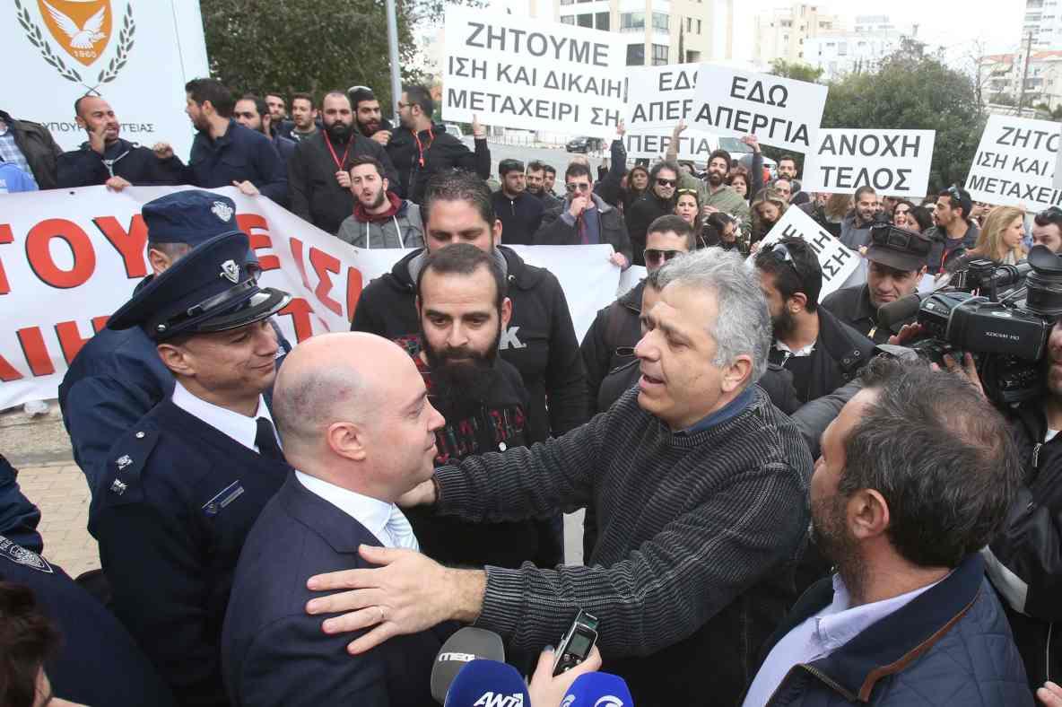 "Nurse strike ""cripples"" hospitals all over Cyprus"
