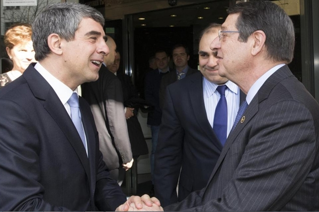Talks with Anastasiades open new horizon for co-operation, Plevneliev tells Cyprus business forum