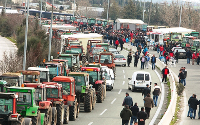 Tsipras-Farmers meeting aimed at diffusing mobilisations of agricultural sector