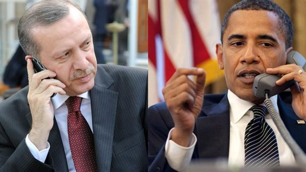 Obama-Erdogan discuss developments in Syria