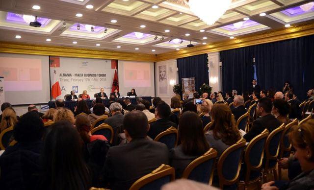 Economic forum between Albania and Malta