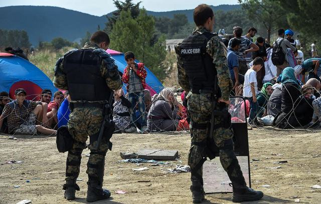 There will be no refugee camps in FYROM
