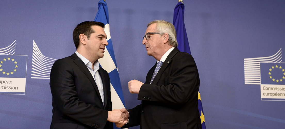 Juncker expresses satisfaction for Greece's progress in the refugee issue