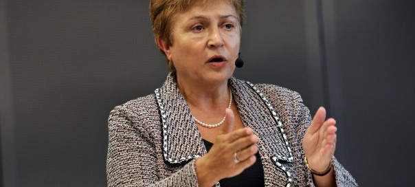 EU Commissioner Georgieva drops out of unofficial race to be Bulgaria's nominee for UN chief