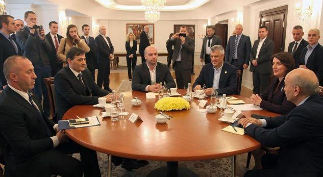 Meeting between political leaders ends without an agreement