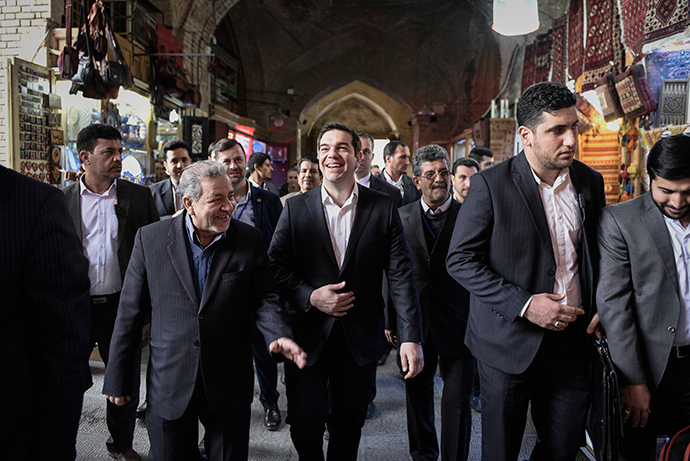 Tsipras: Cooperation with Tehran is of strategic importance