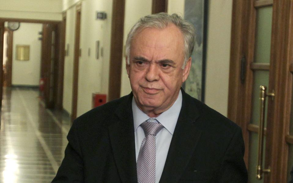 Dragasakis puts an end to early elections scenarios