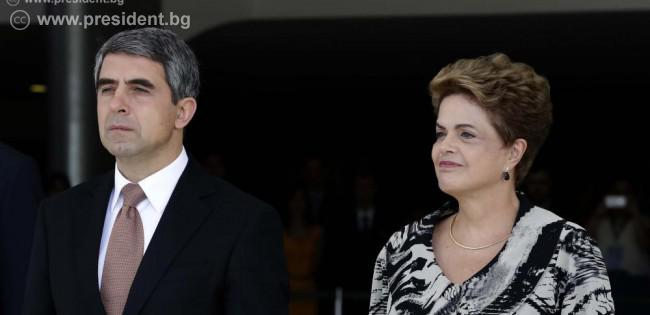 Bulgarian President wraps Brazil visit with pledge to assist building trade ties with EU