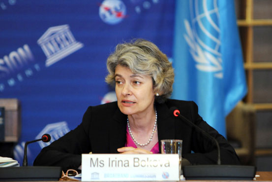 Row over State Security background of Bokova UN campaign team