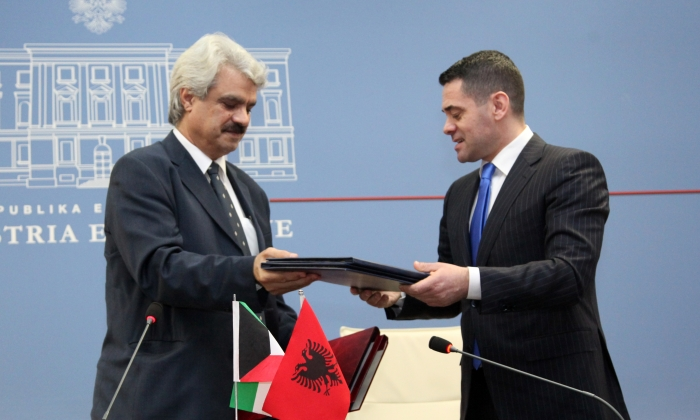Kuwait lends Albania 40 million USD