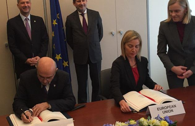 SAA between Kosovo and EU enters in force on 1 April