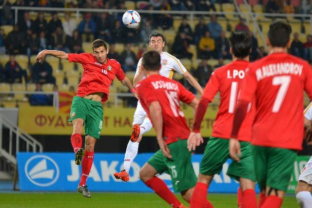 Bulgaria defeats FYROM in Skopje