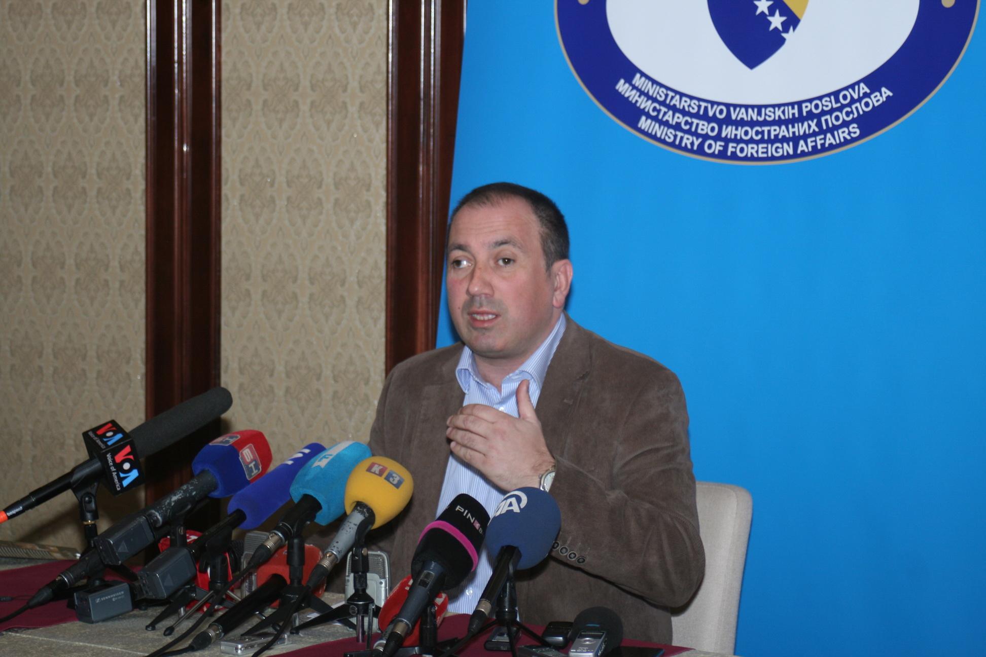 Priorities of BiH during presidency in CEI