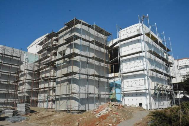 Renovation of the Albanian Theater in Skopje is blocked, the company responsible for the works gone bust
