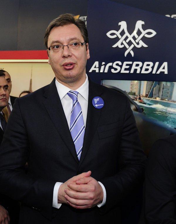 No fear of terrorist attacks in Serbia, Vucic says