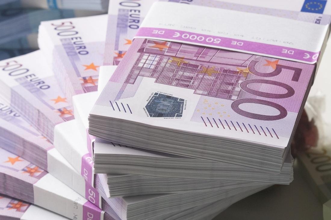 Recording of those who exchange 500 euro bills