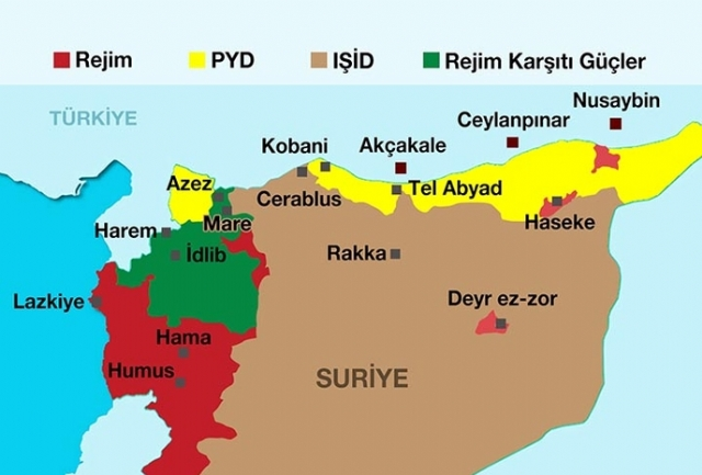 Kurds announce creation of the Federation of Northern Syria