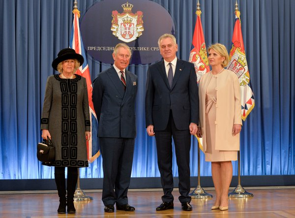 Prince Charles in Belgrade asks Nikolic on Moscow visit