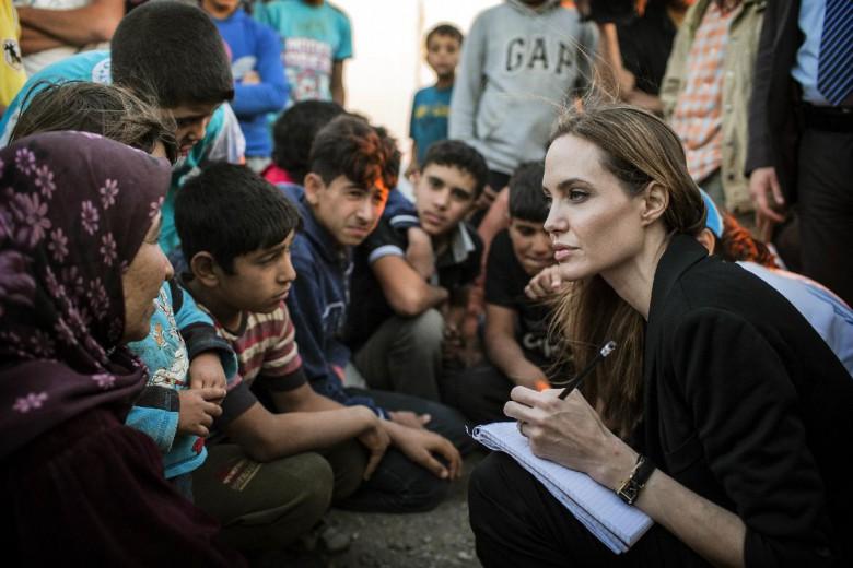 Angelina Jolie Pitt visits Greece to highlight refugee crisis