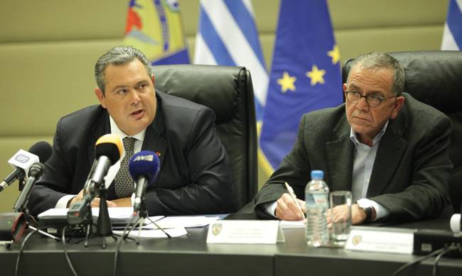 """Crisis in the government after the """"Macedonia"""" of Mouzalas"""