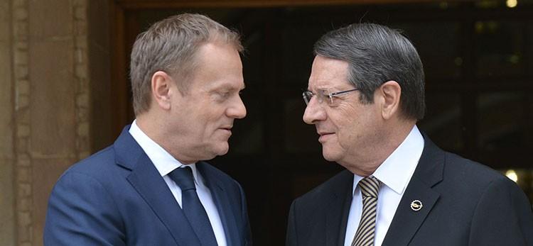 Anastasiades meets Tusk over migration crisis