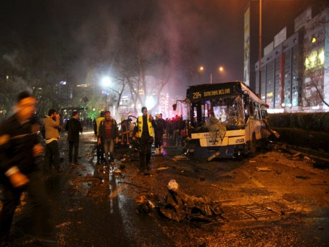 Latest terrorist attack in Ankara troubles the Turkish Government
