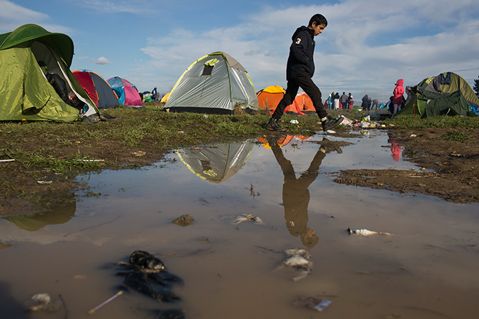 Images of Shame: Idomeni has become hell for the refugees