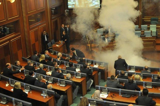 Opposition in Kosovo once again prevents parliamentary proceedings
