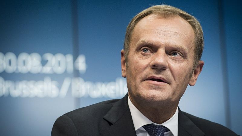 Tusk thanked the countries that closed their borders via twitter