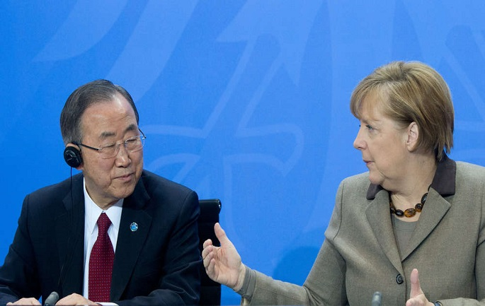 German chancellor demands security of borders between Albania and FYROM with Greece