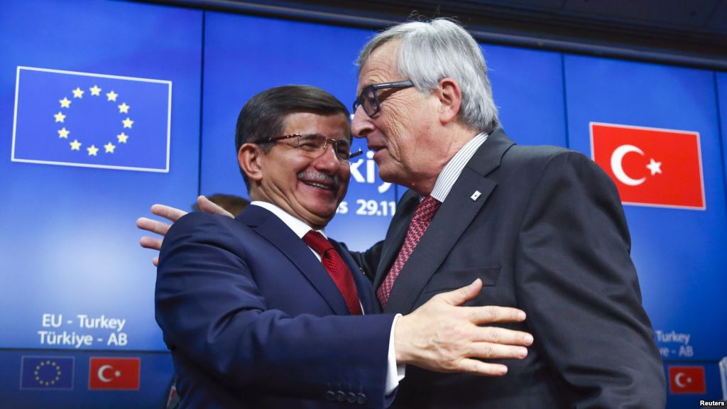 """Davutoglu in Brussels with """"surpise"""" proposals"""