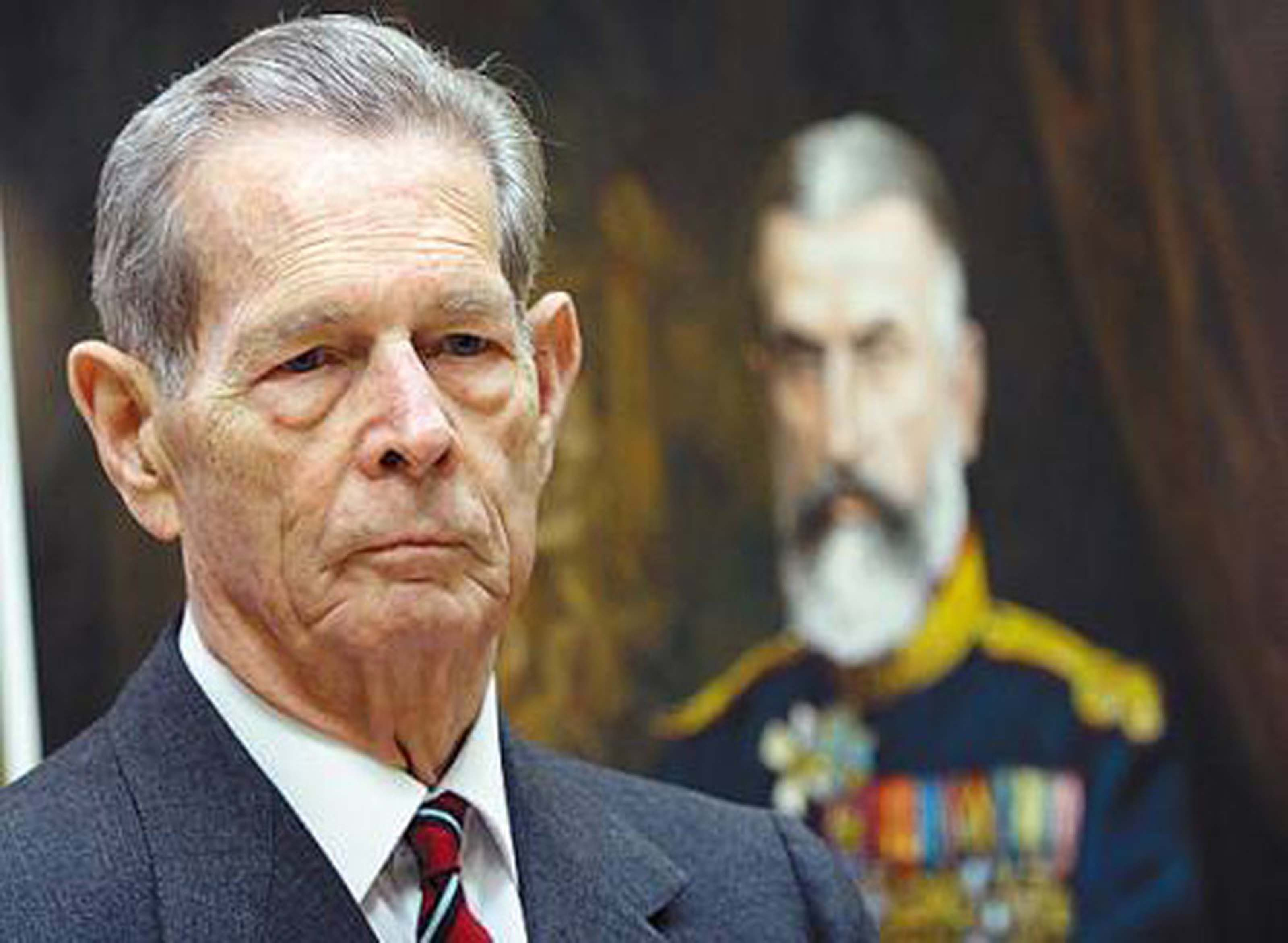 Romania's severely ill king withdraws from public life