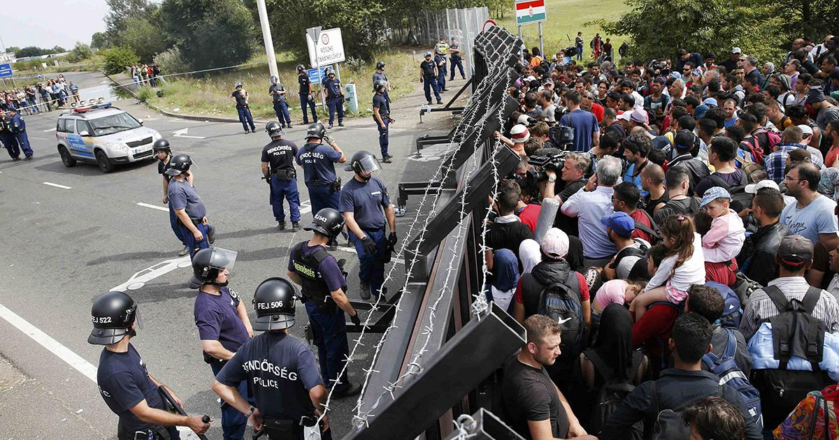 Refugees view Serbia as an obstacle
