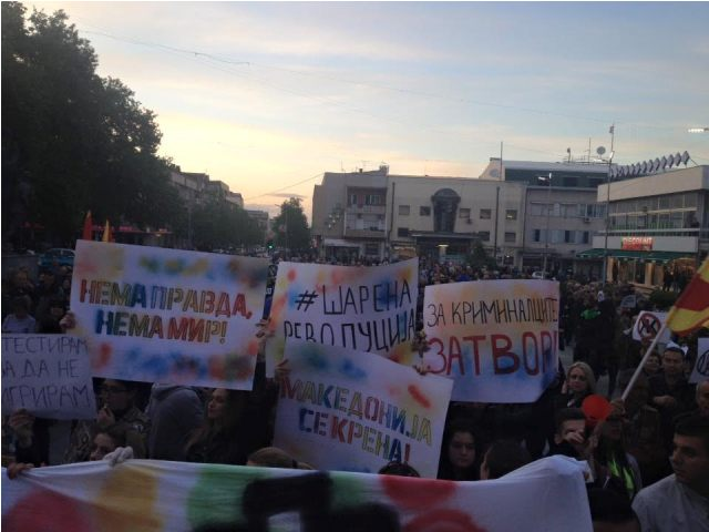 The international community intensifies criticism for the crisis in Skopje