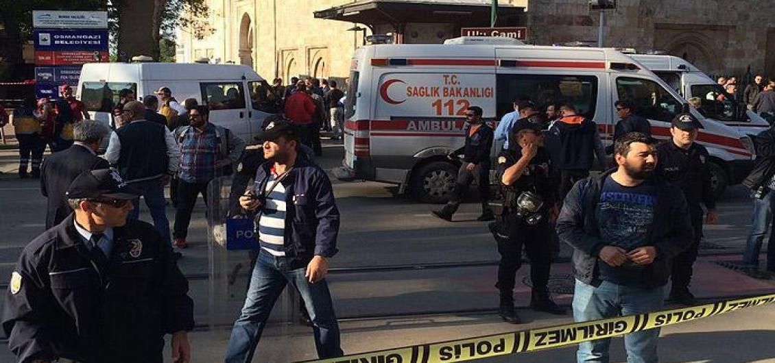 Suicide bomber attack in Turkey – One dead, 17 injured