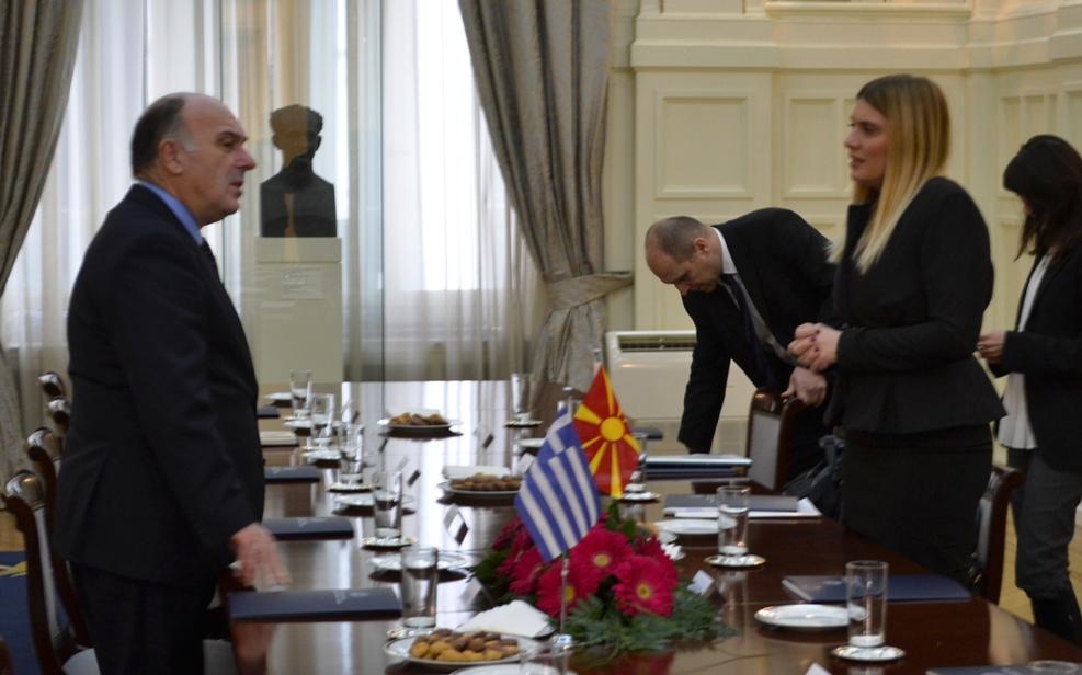 New round of talks on Greece – FYROM MoU takes place in Skopje