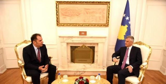 A good business climate is being created in Kosovo, says president Thaci